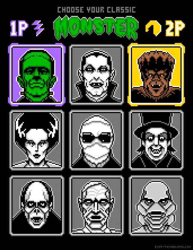 8 Bit Monsters