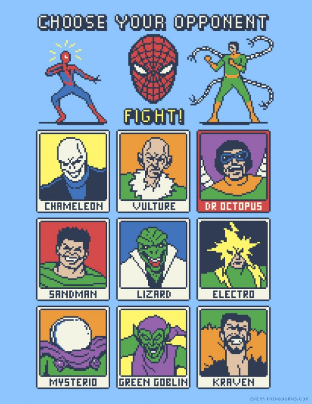 Spider Fighter 8 Bit