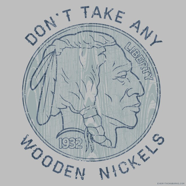 Wooden Nickels